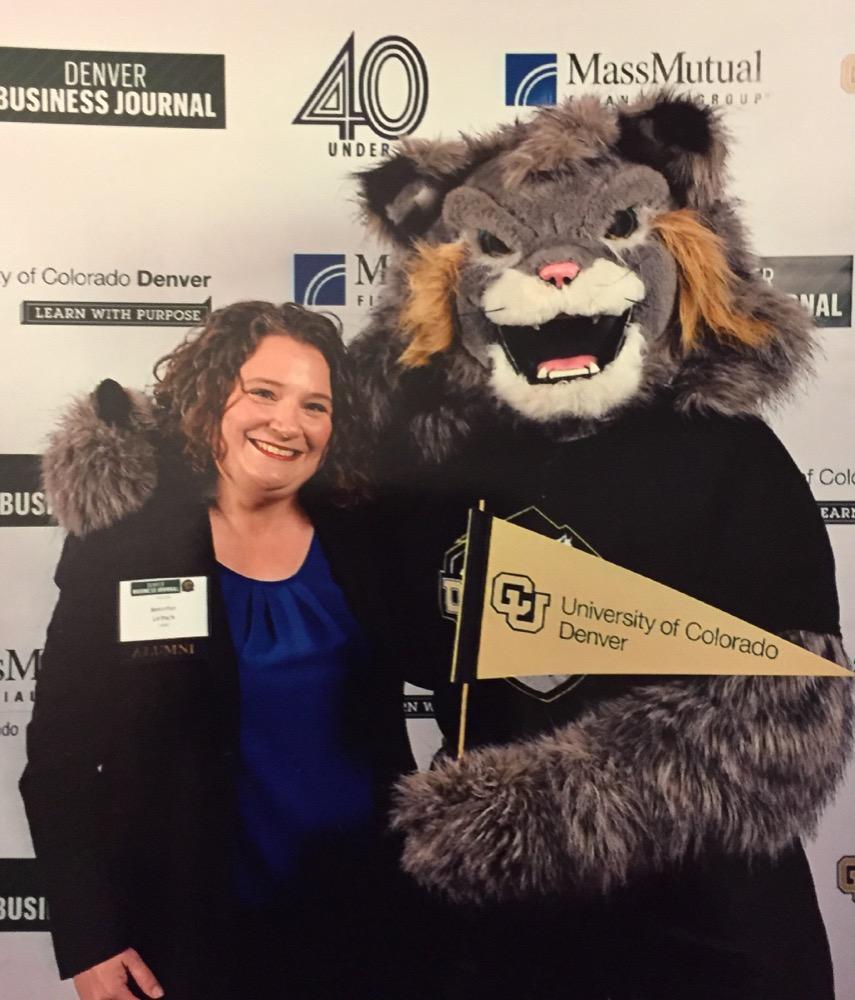 A Celebration Of Success: Alumna Jennifer Leitsch Gives