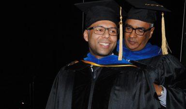Bidyut Hazarika graduation