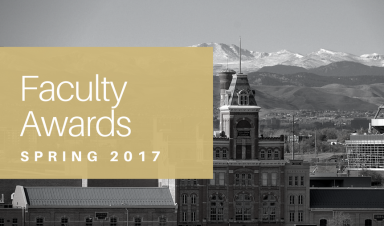 2017 Faculty Awards