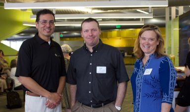 Dr. Ronald Ramirez, Dr. Kyle Ehrhardt, and Dr. Mary Lee Stansifer