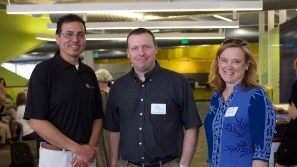 Dr. Ronald Ramirez, Dr. Kyle Ehrhardt, and Dr. Mary Lee Stansifer