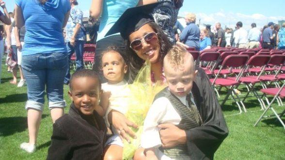 Danielle Shoots graduation