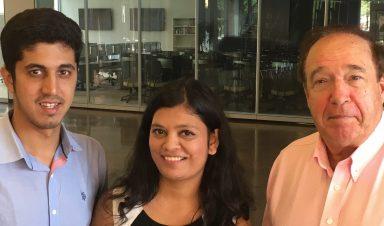 Nimmi Nambiar, Nikhil Vanjani