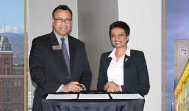 Dr. Sharmila Anand, Rohan Christie-David