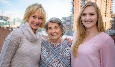 Three Generations of CU Denver Business School Graduates