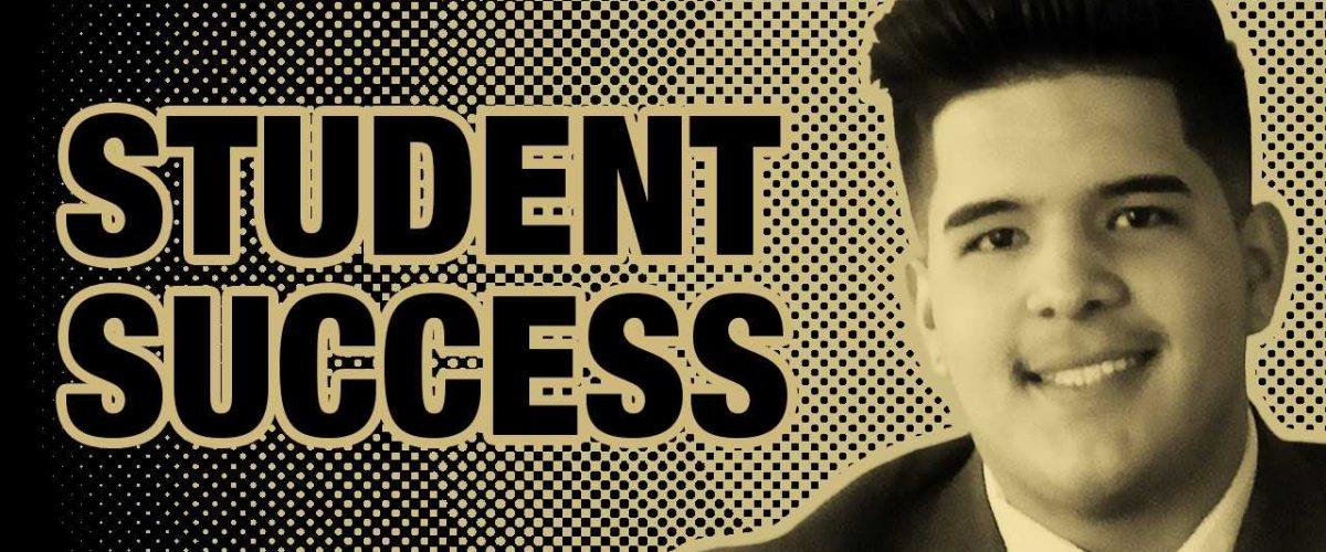 Student Success: Humberto Meza