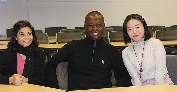 Party Welcomes CU Denver First-Time International Students