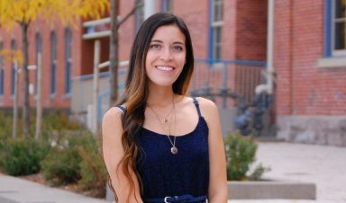 Grecia Portillo Student body president