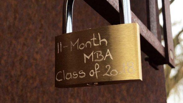 11-Month MBA cohort lock