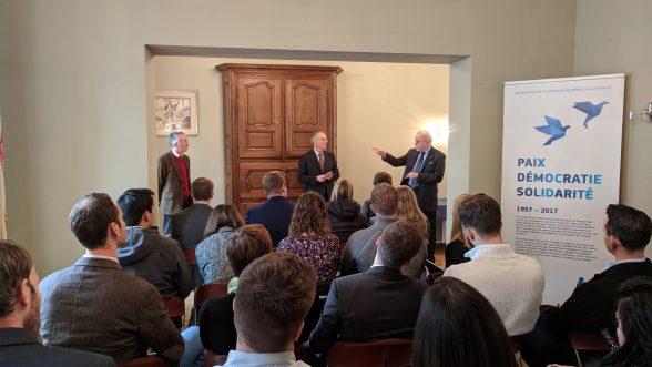 Lecture on EU in Schengen