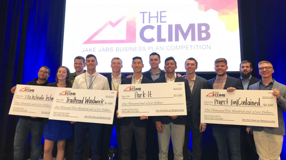 Student entrepreneurs win big at THE CLIMB | Pitch Night
