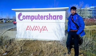 International student with Computershare