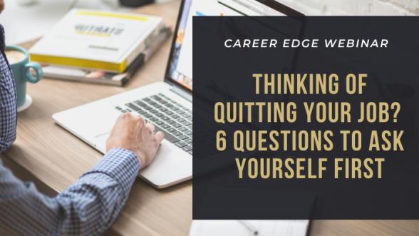 Career Edge Career Change header