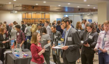 Students at Spring 2020 Career Fair