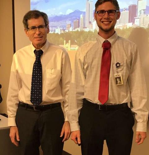 Mason and Dr. Robert Wolfson